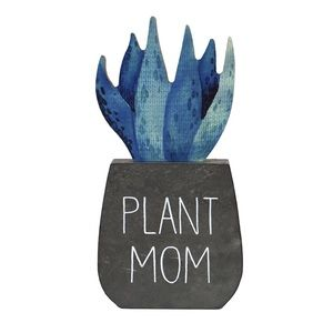 """Plant Mom"" Artificial Cactus Plant"